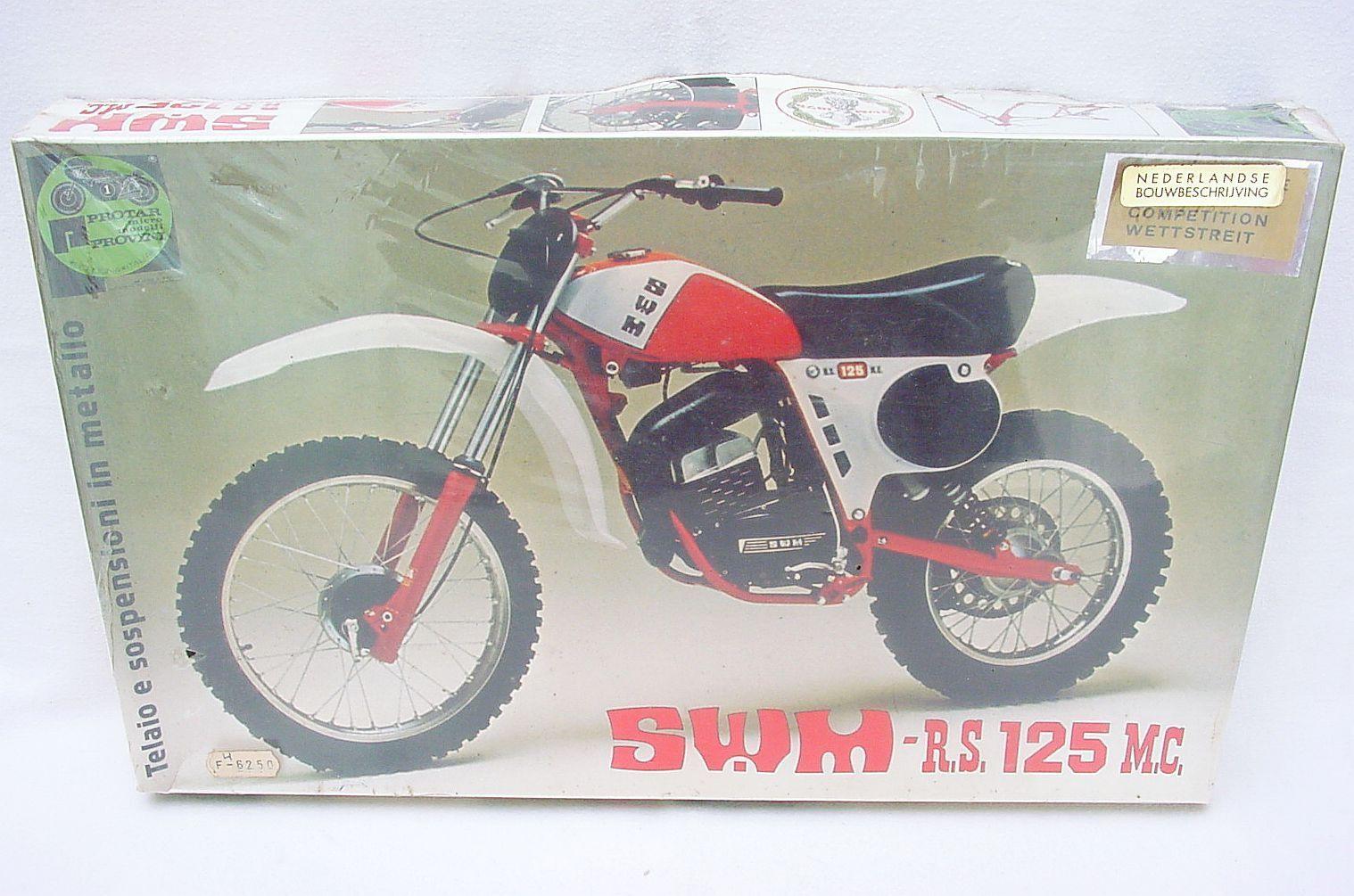 Predar 1 9 SWM RS 125 MC CROSS MOTORCYCLE  Racing Competition  Metal Kit MISB`68