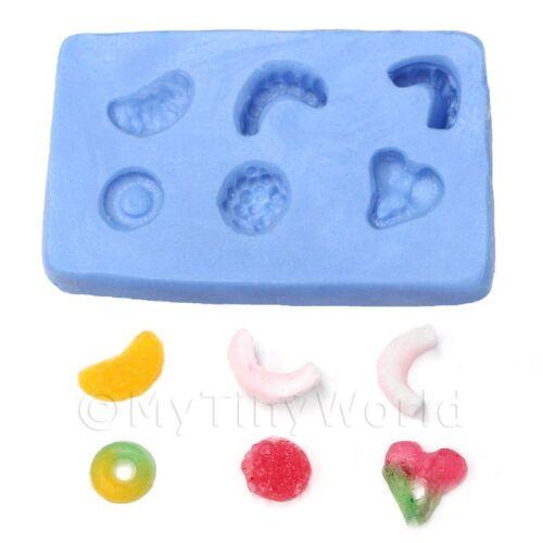 miniatura per casa delle bambole riutilizzabile JELLY Dolce Stampo in silicone 1