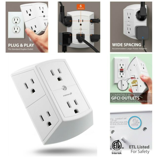 Outlet Adapters Converters Extension Cords Surge Protectors The Home Depot