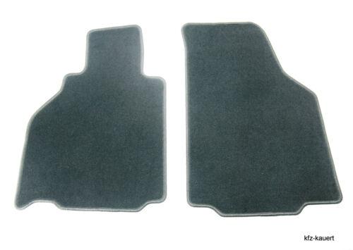 FWK Fußmatten Satz schwarz passend für Porsche 986 Teppich