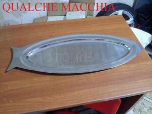 CON-QUALCHE-MACCHIA-VASSOIO-DA-PESCE-IN-ACCIAO-INOX-USATO