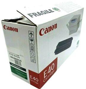 (NEW) CANON E40 Black Toner Cartridge OEM FC200 PC100/300/400/700/900 Series