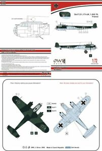 Owl 1/72 Dornier Do-17Z-1 F1+JK KG 76 # S7255