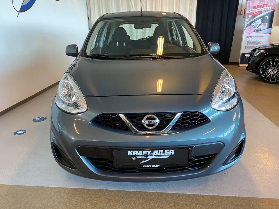 Nissan Micra 1,2 Acenta Benzin modelår 2016 km 83000