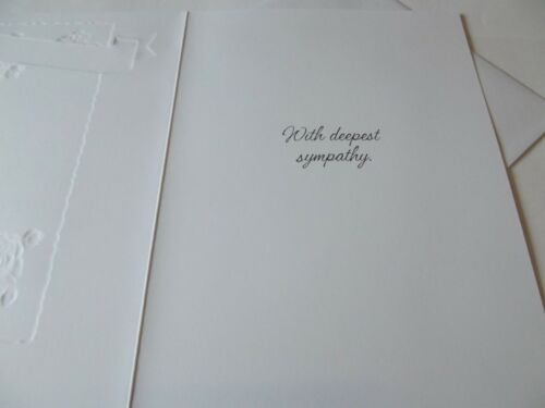 Condolence//Sympathy Card ......... In The Loss Of Your Daughter