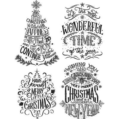 Stampers Anonymous Tim Holtz Stamps ~ Doodle Greetings #2 ~ Christmas CMS286
