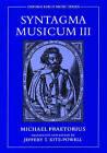 Syntagma Musicum III: Pt.3 by Michael Praetorius (Hardback, 2003)