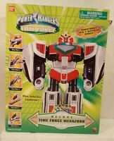 Power Rangers Time Force - Deluxe Time Force Megazord (mib - Contents Sealed)