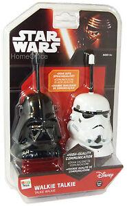 Disney-Starwars-Walkie-Talkie-Set-New-Darth-Vader-Kids-Star-Wars