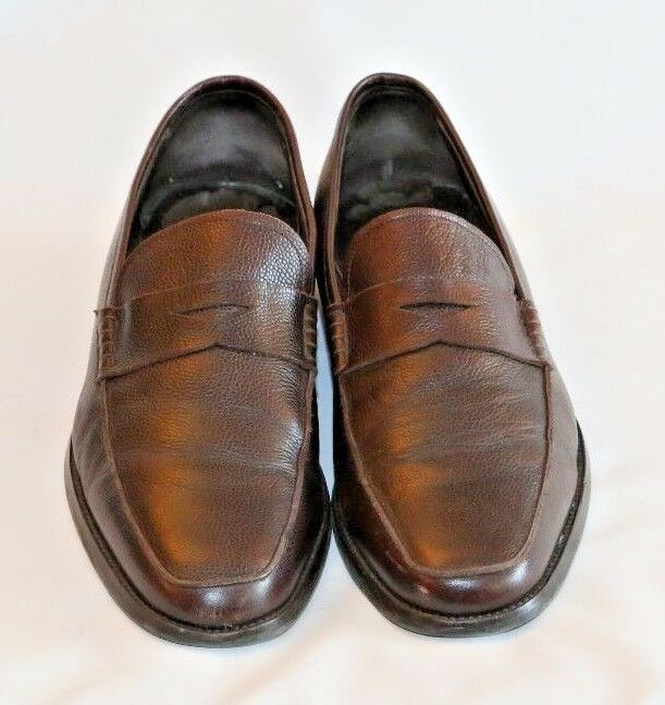 To Stiefel NY braun Leather Penny Loafer schuhe schuhe schuhe Leather Größe 11.5 bee089