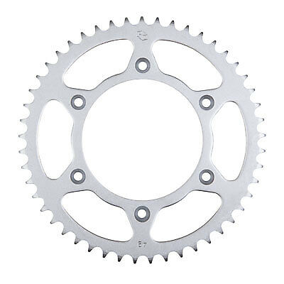 Primary Drive Rear Aluminum Sprocket 49 Tooth Red for Honda CRF450R 2002-2018