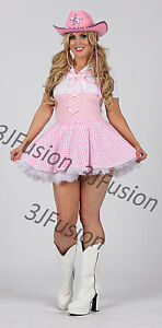 Image Is Loading Pink Cow Country Dolly Parton Fancy Dress