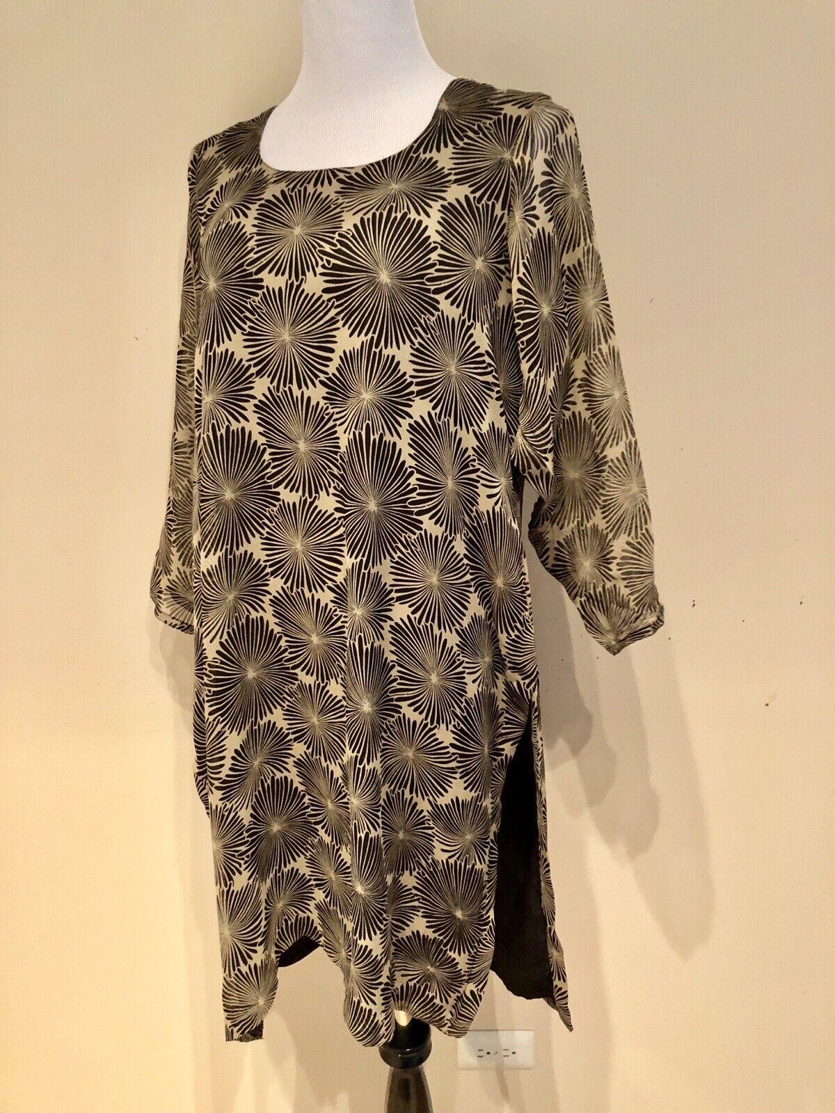 Silk Chiffon Salwar Kameez Dress - image 4