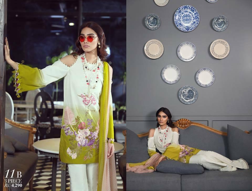 Sana Safinaz Muzin Lawn Collection 2019 Design 11B