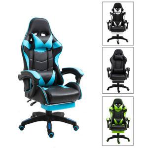 Silla de Oficina PC Gaming Videojuegos Racing Escritorio Sillon Gamer Despacho