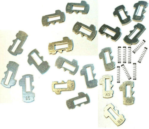 NEW GM OEM Door Lock Cylinder TUMBLER /& SPRINGS SET 323711 To 323715 /& 46890