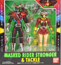 New Bandai S.I.C. 55 Masked Kamen Rider Stronger & Tackle Painted