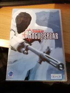 Tom Clancy's Rainbow seis Rogue Spear Disco de PC CD-ROM de Windows con caja