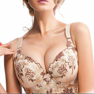 a5c0993dc5 New Womens Thick Padded Extreme Push Up Bra Underwire Gather ...