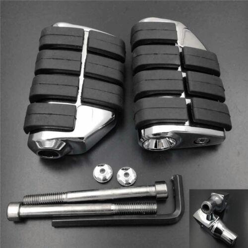 Large Rear Foot Pegs Rest For 1998-2009 06 07 08 Suzuki Intruder 1500 LC VL1500