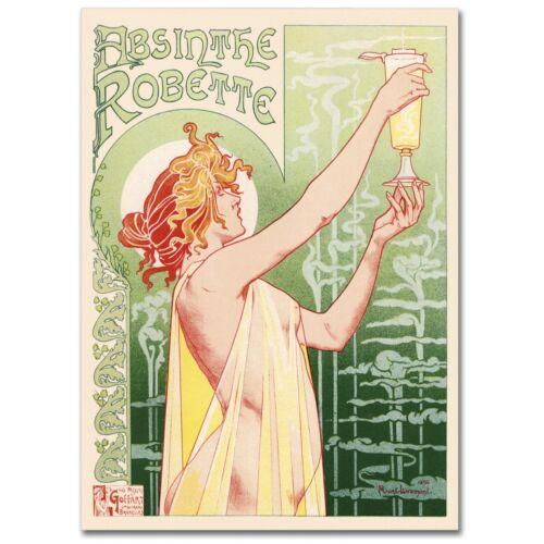 "POSTER /""Absithe Robette Advertising Vintage Poster/"" STAMPA SU carta FOTOGRAFICA"