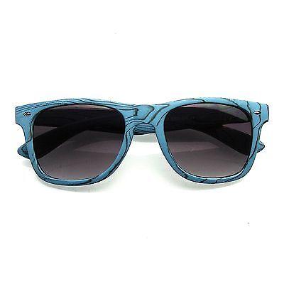 Unique Style Indie Fashion Wood Print Retro Wayfarer Sunglasses