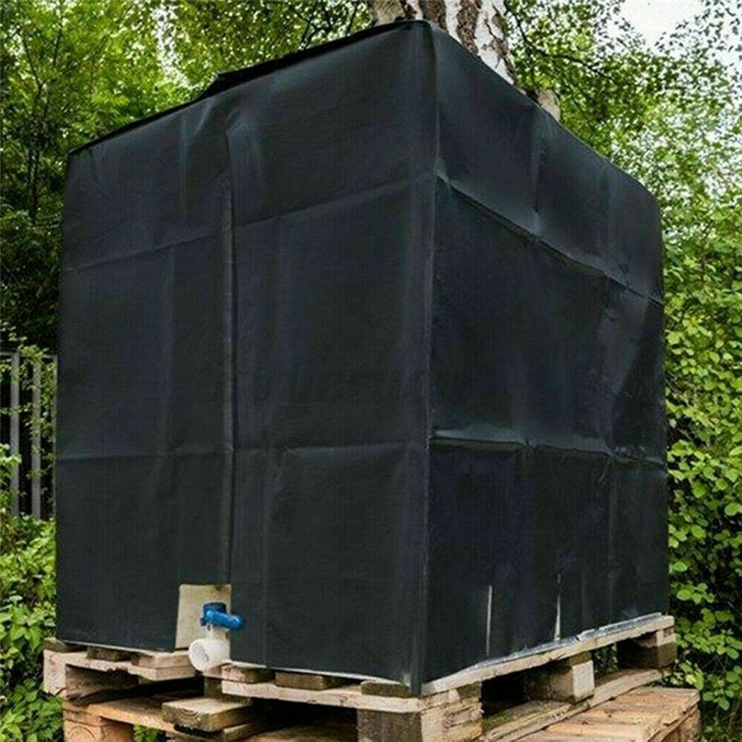 Rain Water Tank Protective Cover 600L IBC Container Dust-proof Oxford Cloth
