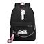 Billie Eilish USB Charge Girl/'s Shoulder Rucksäcke Backpack Student Taschen Bag