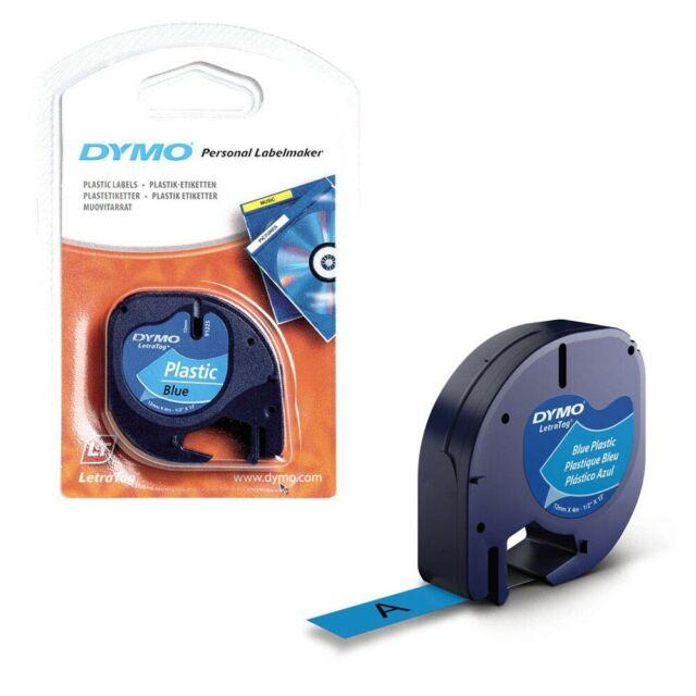 DYMO Beschriftungsband 91225 schwarz auf blau 12 mm