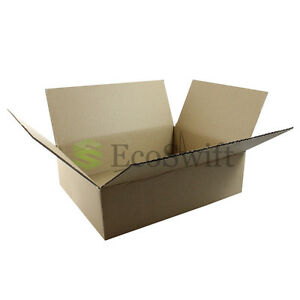 40 10x8x3 Cardboard Packing Mailing Moving Shipping Boxes Corrugated Box Cartons