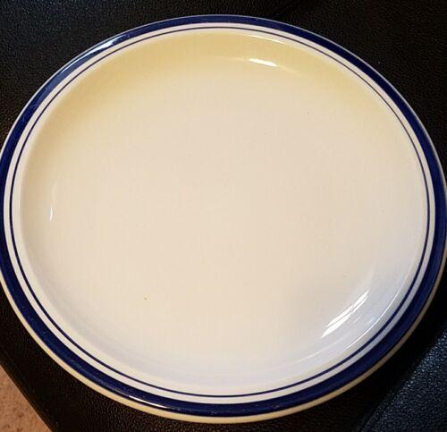 "s Pottery Barn CLUB BLUE 7 3//4/"" Salad Plates Set of 2"