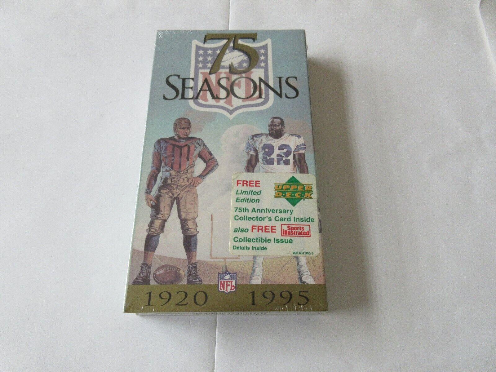 75 Seasons , VHS , 1920-1995 , The Men , Magic & Memori