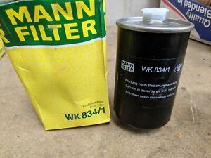 Mann-Kraftstofffilter-WK834-1-Passend-fuer-Audi-Hafei-Volkswagen