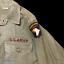 Rare-1969-US-Army-Vietnam-Airborne-Named-034-Fields-034-Salty-Combat-Uniform-Relic miniature 6