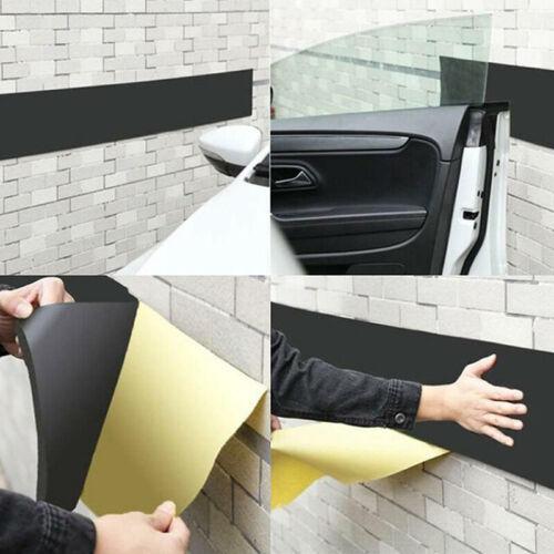 6mm Autotür Schoner Aufkleber Parken Streifen Wand Stoßstange Gummi Plastik