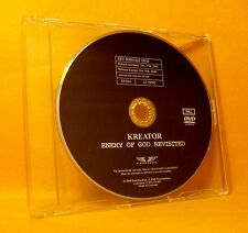 DVD PROMO ! Kreator Enemy Of God Revisited 15TR + More 2006 PAL Thrash Metal