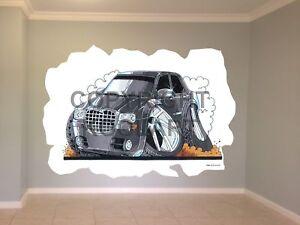 Huge-Koolart-Cartoon-Chrysler-300C-Wall-Sticker-Poster-Mural-1905
