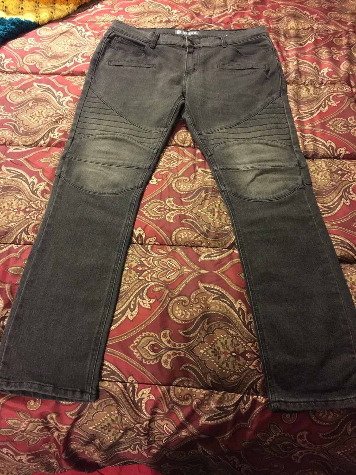 Biker Denim Jeans Moto Size 36