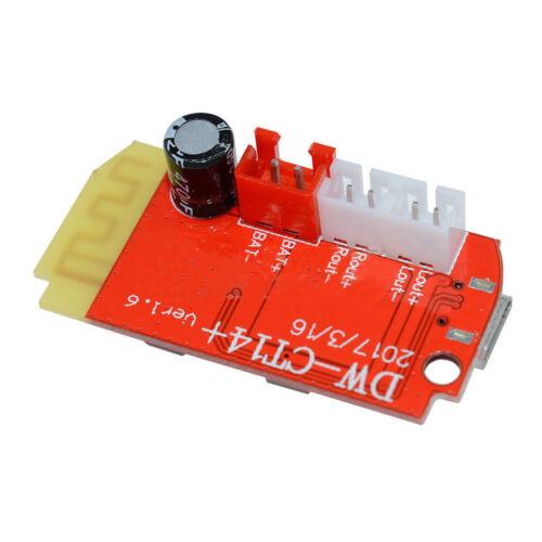 Dual 3W 3.7-5V Mono Digital Amplifier Board Module For Bluetooth Speaker DIY BSG