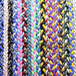 Titanium-Ionic-Sports-Baseball-Necklace-16-034-18-034-20-034-22-034-3-rope-Tornado-Braid