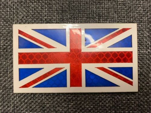 UK UNION JACK VELCRO® BRAND HOOK IR /& REFLECTIVE MORALE FLAG PATCH,MONO,MULTICAM