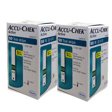 ACCU CHEK Active 100 Test Strips (100Sheets) Tracking number, Expiration:12/2017