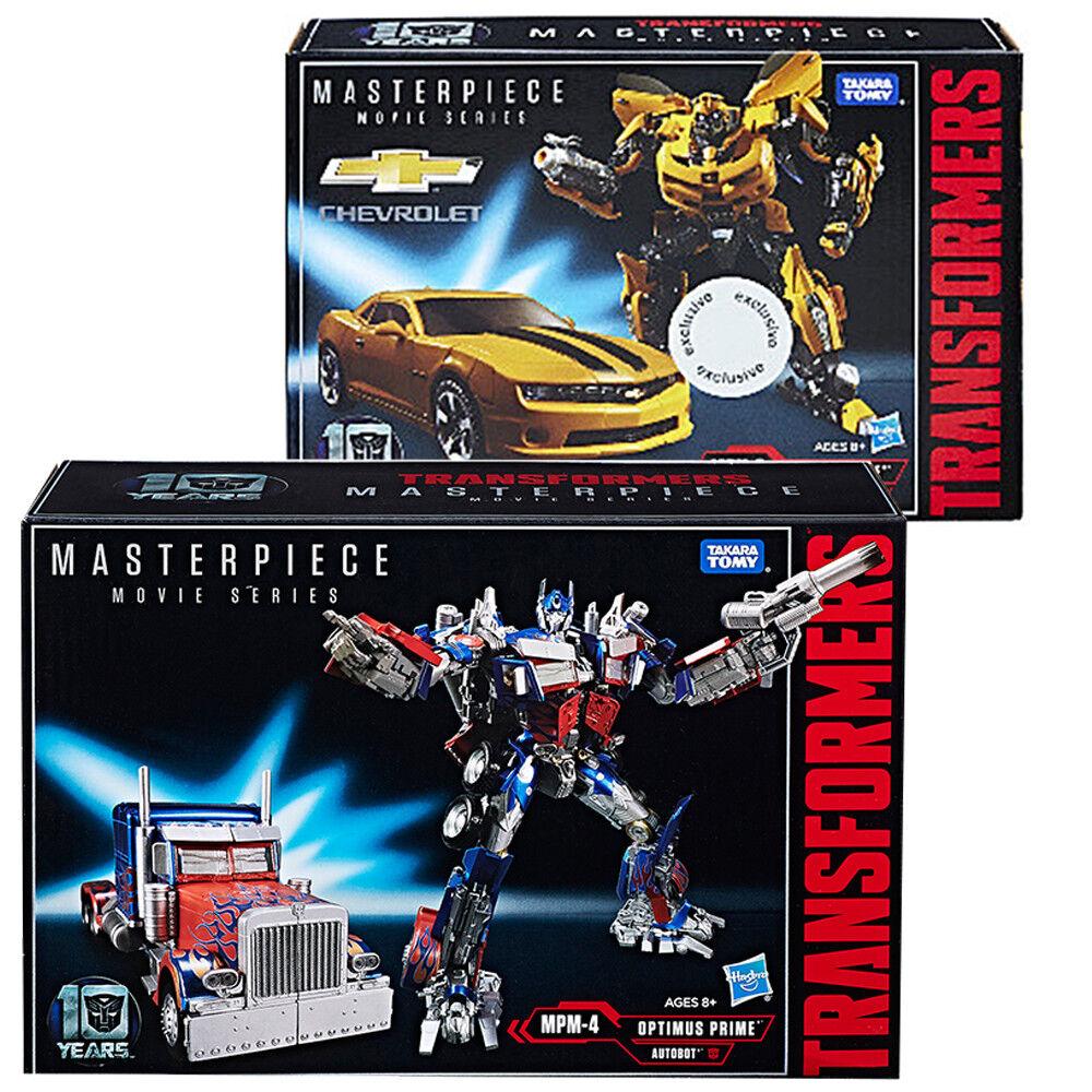 Takara Transformers Masterpiece MPM04 OPTIMUS PRIME MPM03 Bumblebee Set