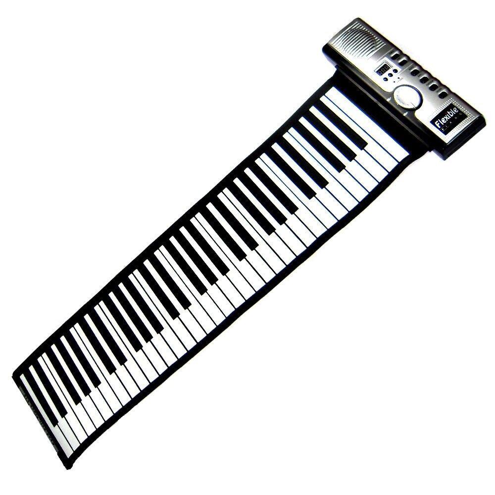 Portable Roll-Up 61 MIDI Soft Key Flexible Electronic P