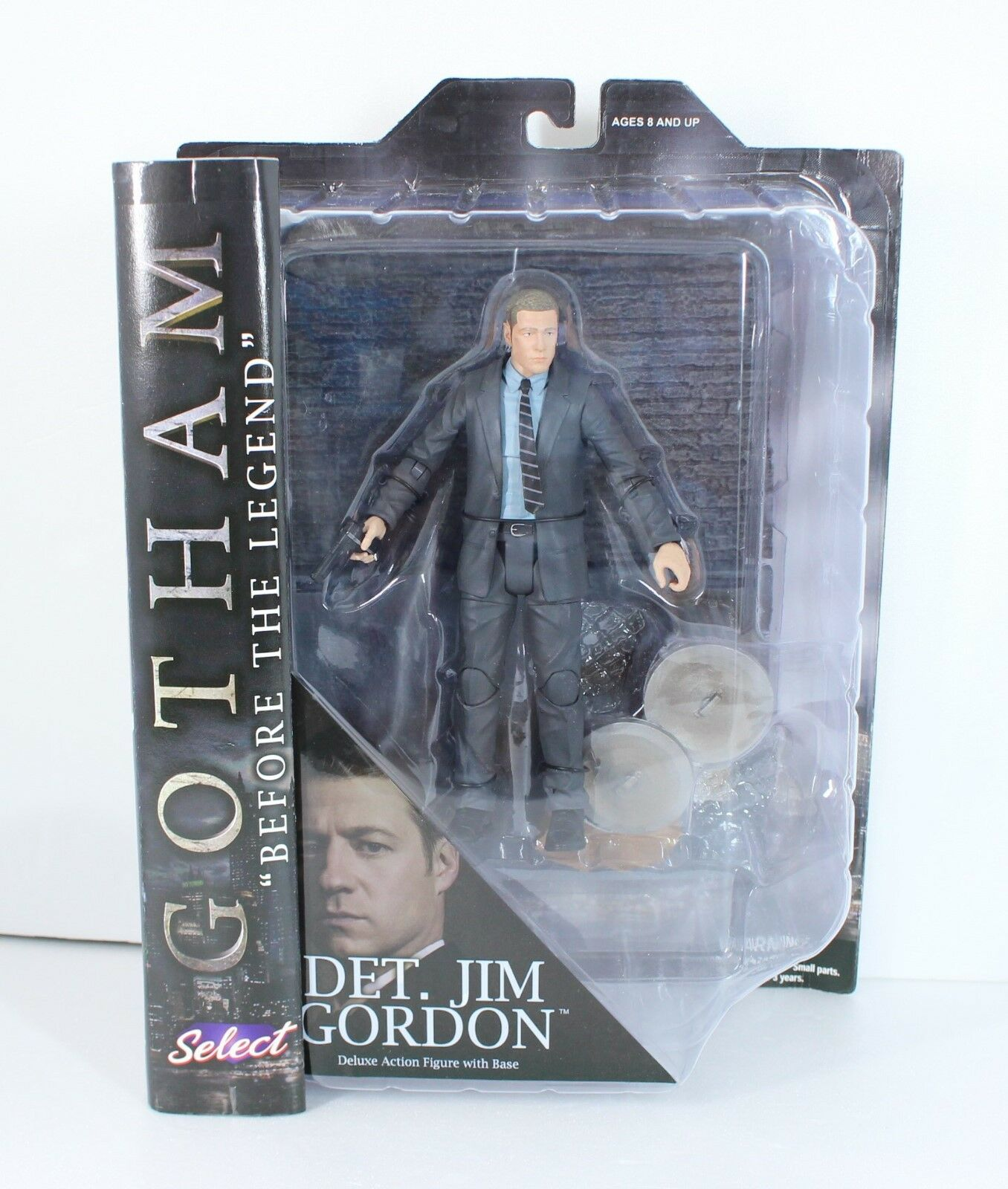2015 Gotham Select  Det. Jim Gordon Figure Diamond Select Toys from japan