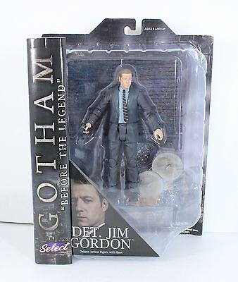 D167 Gotham Jim Gordon FIGURE LOOSE Batman Diamond Select