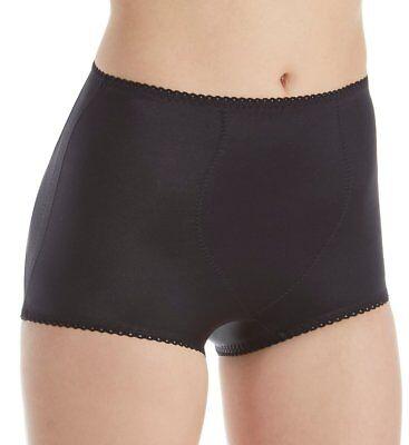 Humorous Rago Shapewear Padded Rear Moderate Control Shaper Black Girdle Size 34/2xl Intimates & Sleep