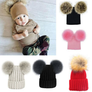 ac7f1fbedef Image is loading Kids-Baby-Winter-Warm-Knit-Beanie-Hat-Boys-. Image not  available Photos not available for this variation