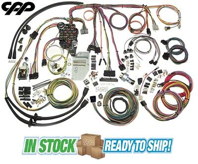 1955 56 CHEVY BELAIR CLASSIC UPDATE AMERICAN AUTOWIRE WIRING HARNESS KIT  500423 | eBayeBay