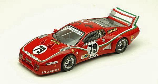 Ferrari 512 bb   79 unfall - 1980 dini   lilati   micangeli 1 43 modell
